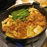 福島壱麺 - チーズタッカルビ鍋