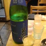 福島壱麺 - 苗加屋(のうかや) 特別純米 琳青(りんのあお)(富山県)