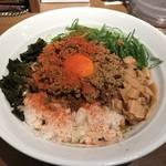 ダイキ麺 - カレー台湾まぜ麺(800円)