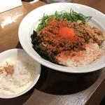 ダイキ麺 - カレー台湾まぜ麺(800円)ミニ飯付き
