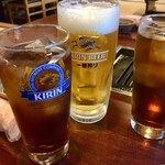 あきちゃん - 私だけビール…(^^;;