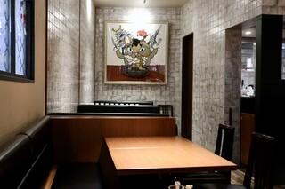 ミート矢澤 名古屋 - テーブル席