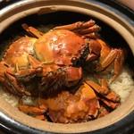 75578224 - 上海蟹の炊き込みご飯