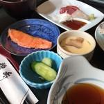 鵜舟 - 料理写真:昼御膳(税別800円)(2017.10現在)