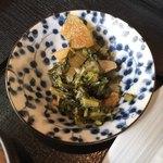 鵜舟 - 大根菜を炊いたん