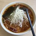 ラーメン華門 - スープカレーねぎラーメン、960円です。