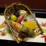 西村屋 本館 - 料理写真:前菜