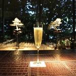 波沙鮓 - ☆グラスシャンパン