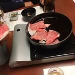 Imahanhonten - 鉄鍋へ投入