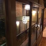 今半本店 - 渡り廊下の窓