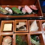 75586676 - 野菜寿司とお惣菜