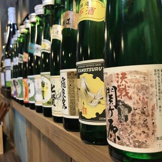 一合瓶の日本酒を各種取り揃えてます!