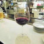 赤白 - 赤ワイン(タナ、カベルネ・ソーヴィニヨン、メルロー、ピノ・ノワール)