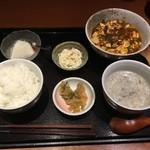 75587824 - 麻婆豆腐ランチ