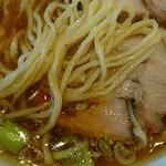 ヱビスヤ - 麺は固ゆで