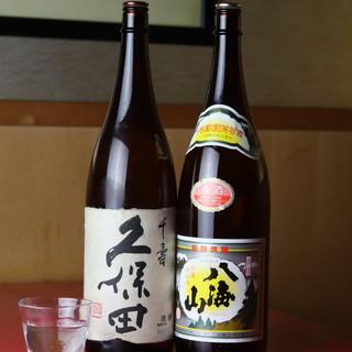 ◎常時60種◎季節ごとに楽しめる日本酒が豊富です
