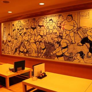 ◇全60席◇明るくゆったりとした店内で、寛ぎながらお食事を