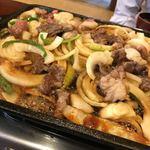 馬肉料理 吉兆 - 馬肉バラ焼き(写真は2人前)