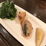 ミ・カシータ - ランチ前菜