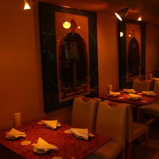 ◇全25席◇落ち着いた大人の雰囲気は、接待や会食に最適