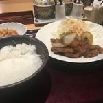 75595310 - 生姜焼き定食 1100円