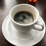 ラーメン食堂泰 - ドリンクバーのコーヒー