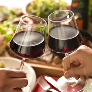 豊富なワインの種類