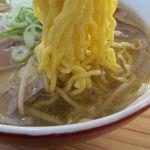 すみれ - 塩ラーメンの麺
