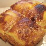 7560399 - カスタードトーストはkaopanのイギリストースト使用