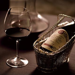 季節感溢れる華やかな料理とマリアージュを楽しむフランスワイン