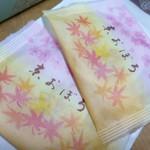 75601068 - 秋らしい個包装の京おぼろ