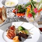 レストラン クララ - 【ハイジのソースフォンデュプラン】