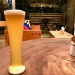 スターエッグス - ベルギービール(ベルホワイト)¥550