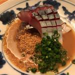 ごはん家 椒房庵 - 料理写真:博多では一度は食べたい胡麻鯖