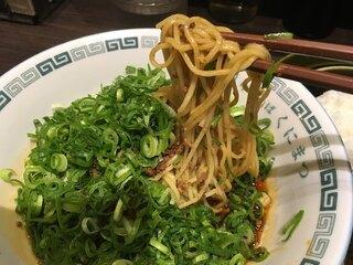 中華そば くにまつ - クニマックスの麺