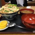 大力食堂 - カツ丼小 ¥600