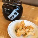 壱力 - キムチ食べ放題(^^)