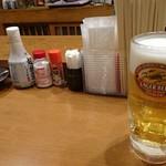 75606467 - 喫煙可 ビール単品200円はお得