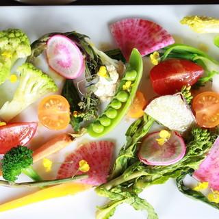 ◇こだわり◇新鮮野菜をたっぷり使ったイタリアンが自慢です