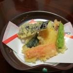 割烹包丁 - 天麩羅の反対側(2017.10)