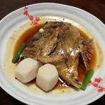 割烹包丁 - 鯛のアラ煮(2017.10)