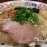 ちばき屋 - 海老ワンタンそば(塩・麺固め)アップ