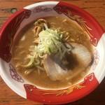 麺屋 つくし - 「濃厚旨味噌ラーメン」500円 (大つけ麺博 大感謝際)