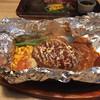 やながわ精肉店 - 料理写真:包ハンバーグ200g デミグラソース ライス・日替わりスープセット 1,684円(税込み)