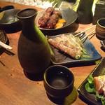 串蔵 - だっさい(純米吟醸)山口 600円