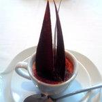 7561204 - 栗のカフェラッテ(エスプレッソ風味のプリンと栗のスープ)