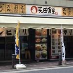 芝田食堂 - 外観