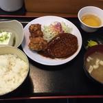 芝田食堂 - 日替りAランチ550円