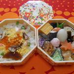 料亭 金鍋 - 料理写真:てまり弁当(~▽~@)♪♪♪
