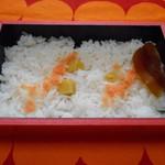 料亭 金鍋 - 栗ご飯(^-^)